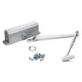Доводчик DORF L-8223  морозоуст Серебро 60- 80 кг 10*