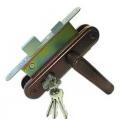 Замок врезной ЗВ 4-3-03 с ручками (Медь) Гарант