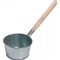 Ковш банный  оцинков 1,5 л. с деревянной ручкой (Лысьва)