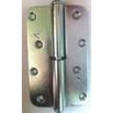 Петля накладная ПН1-110 левая цинк (Мет) 50*