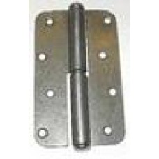 Петля накладная ПН1-130 левая цинк (Мет) 40*