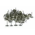 Гвоздики мебельные хром(100 шт) 100*