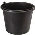 Ведро строительное резинопластик 5 л (круглое) 10*