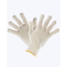 Перчатки 4х-нитка Х/Б белые 10 кл 10*