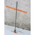 Ледоруб-топор сварной  В3  (широкий) металлич черенок (П)