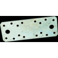 Пластина крепежная 210*90*2,0  цинк (К)  50*