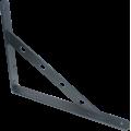 Кронштейн усиленный 350х250 Серебро 10*