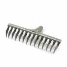 Грабли 14- зубые витые на заклепках (рельсовая сталь) б\чер.50*