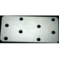 Пластина крепежная 80*40*1,5 ГОЦ  (Мет) 200*